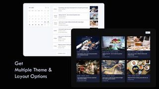Has multiple themes and layout options