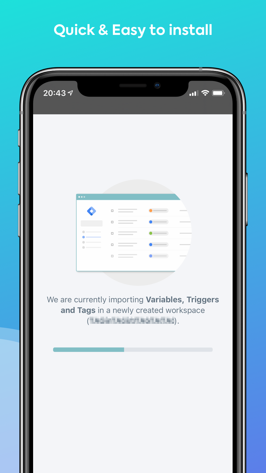 Easy Tag - Quick & Easy to install