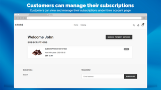 Manage Subscriptions and Payments