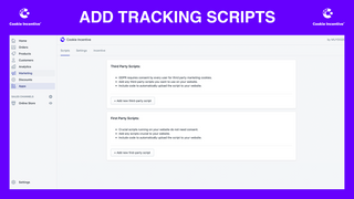 ADD TRACKING SCRIPTS