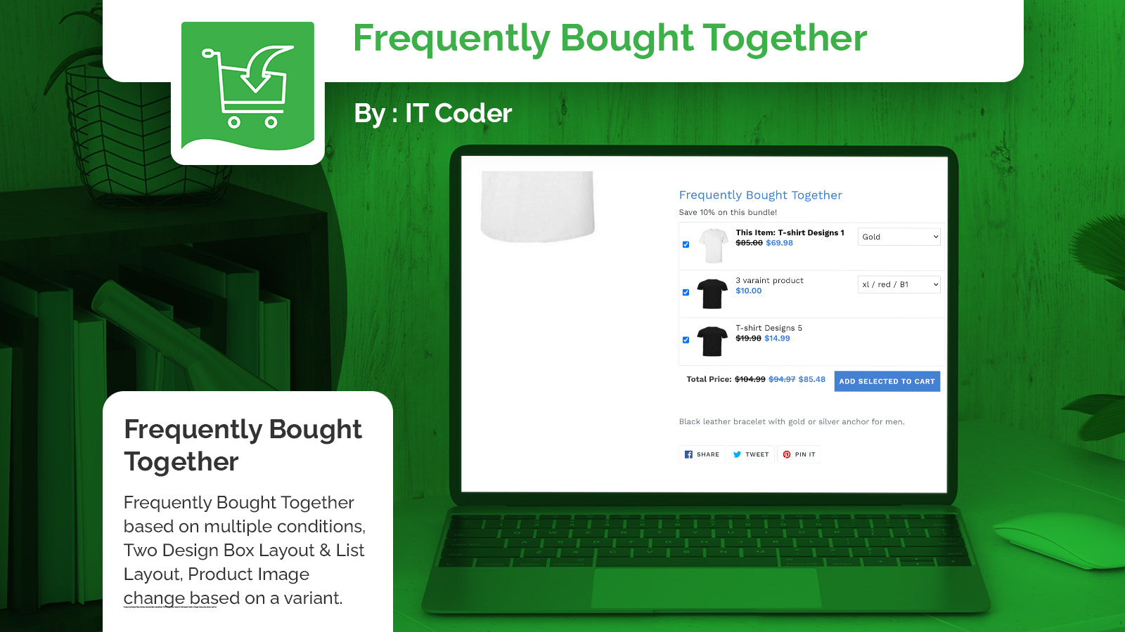 Frequently Bought Together Box View