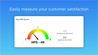 Easily measure customer satisfaction