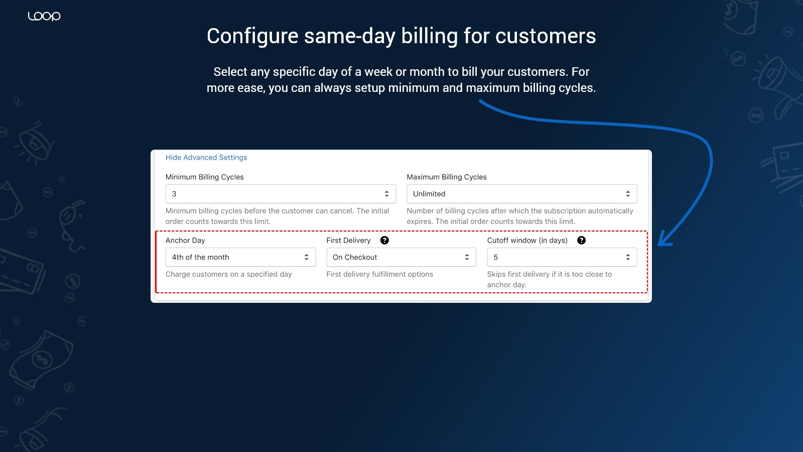 Same billing Subscriptions to simplify operations