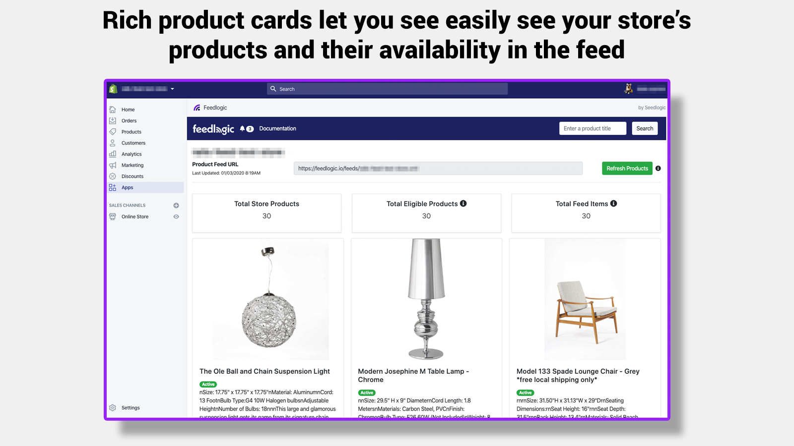 Easily Navigate Your Products