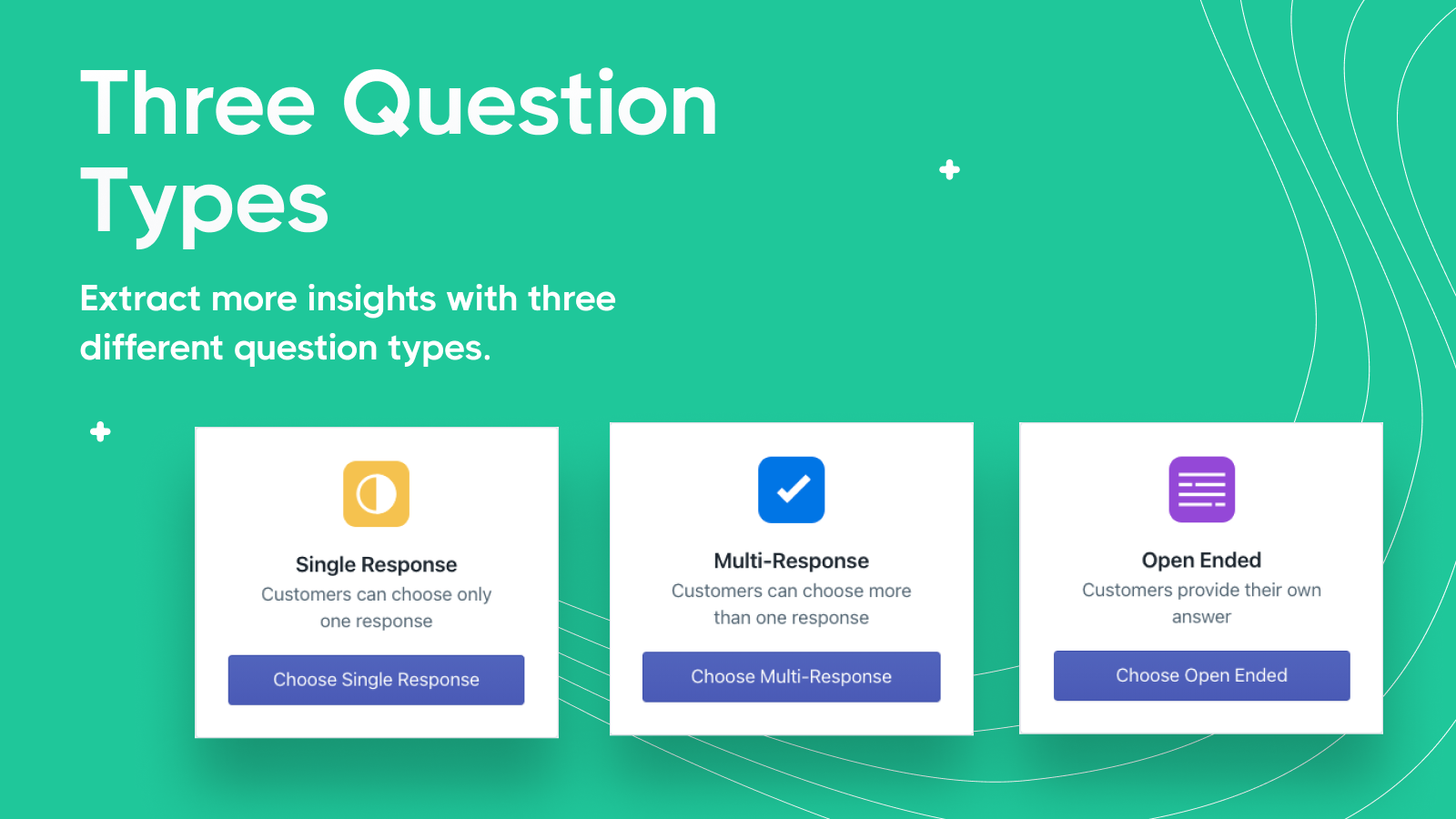EnquireLabs Question Stream Question Types