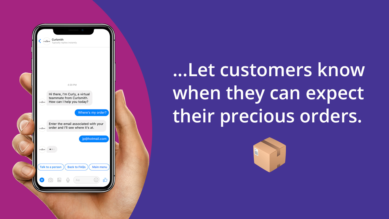 Allow customers to message you from any channel