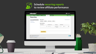 refersion, affiliate marketing, merchant schedule recurring repo