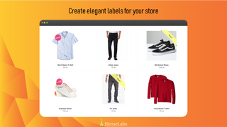 Create elegant labels for your store