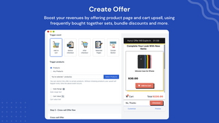 Create upsell offer
