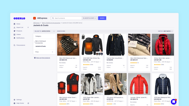 Find and Sell Products on Shopify