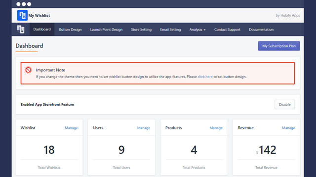 Flexible Dashboard to manage and track all activities