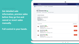 Full control - Appy Sales and Discounts App