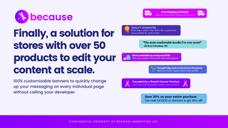 Edit your product pages at scale