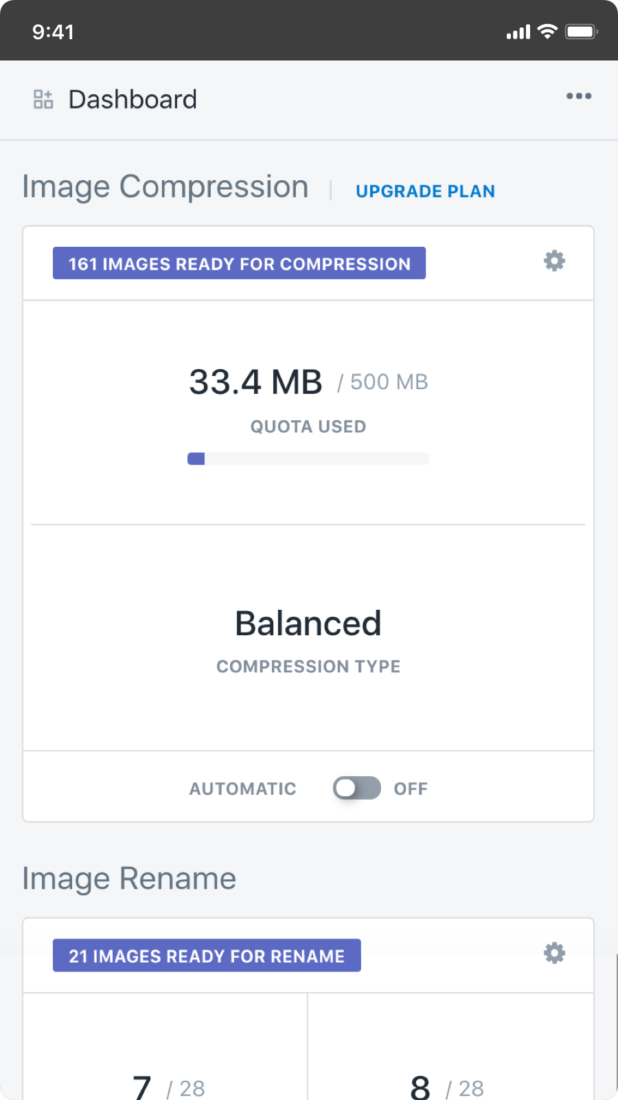 compress & optimize images and speed up your store's load time