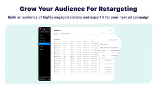 grow your audience for retargeting ad campaigns