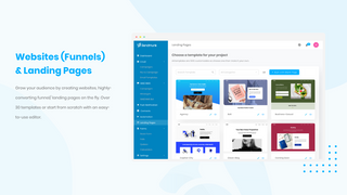 Websites, Landing pages and Funnels