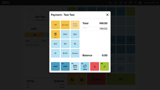 Point Of Sale payment view