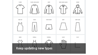 many other different size types can be selected
