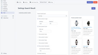 Product Search, Better Search, Smart Search, Product filter