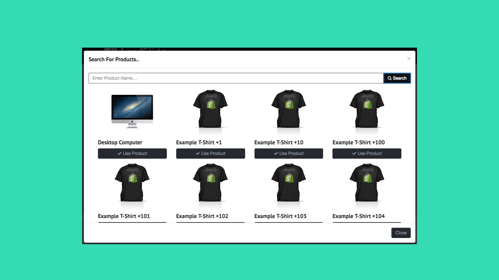 product picker