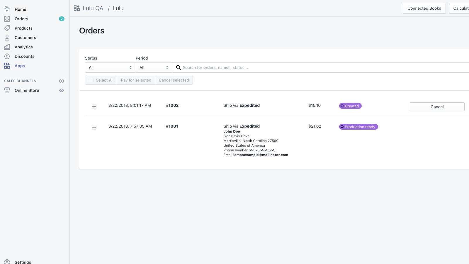 manage orders and fulfillment with xPress