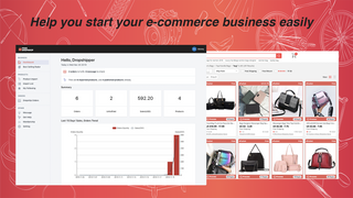 It helps you easily start your e-commerce business