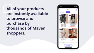 Easily import your products into Maven Messenger