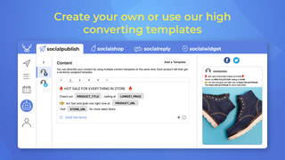 Create your own or use our high converting templates