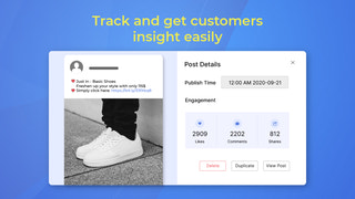 Track and get customers insight easily