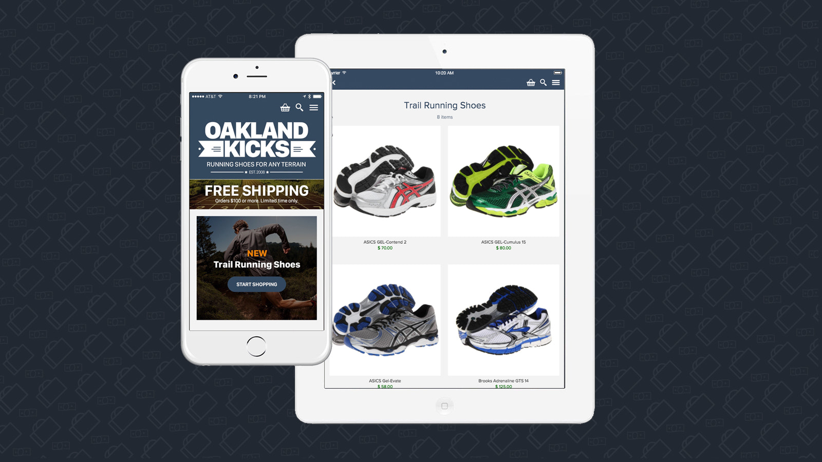Easily convert your product catalog into an app for tablet and p