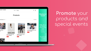 SideMonkey Sidebar banner - Promote your products