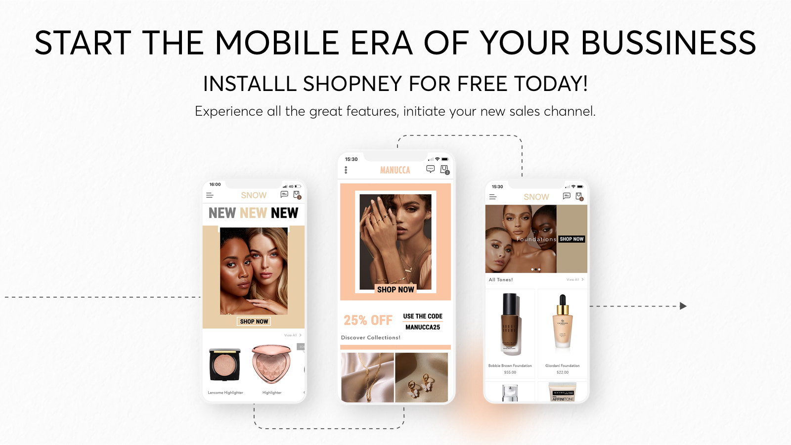 Convert Shopify store to mobile app