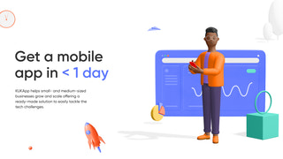 Get a mobile app in < 1 day