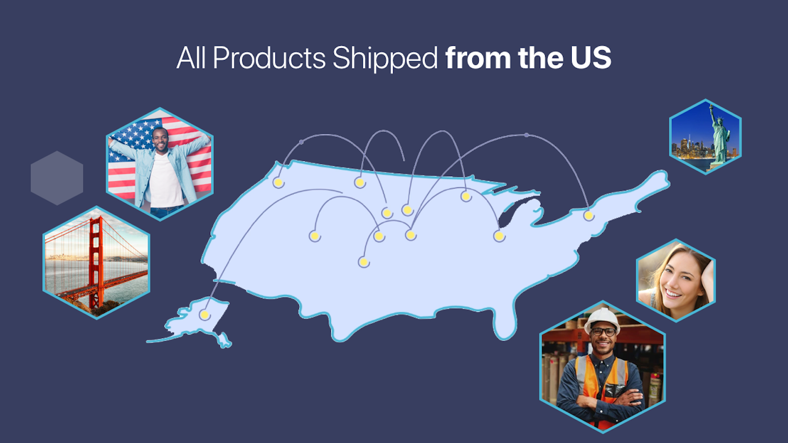 All Products Ship From USA