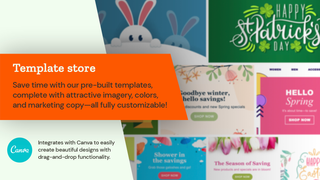 Seguno template store of beautifully designed seasonal templates