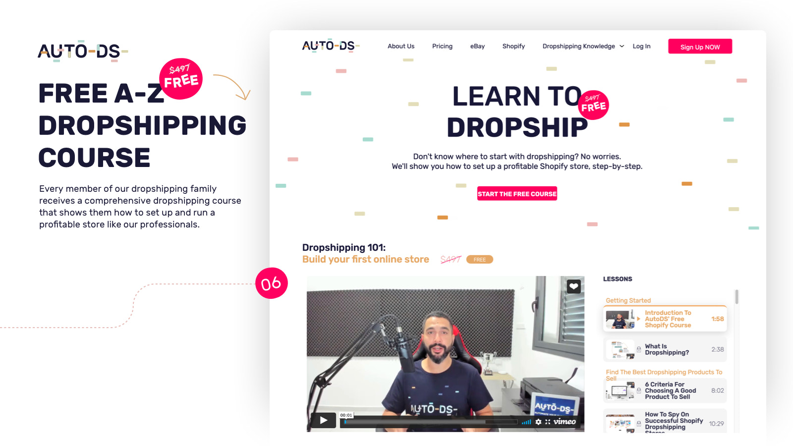 Free Shopify dropshipping course