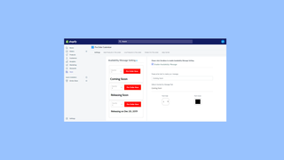 Customize your Availability Message