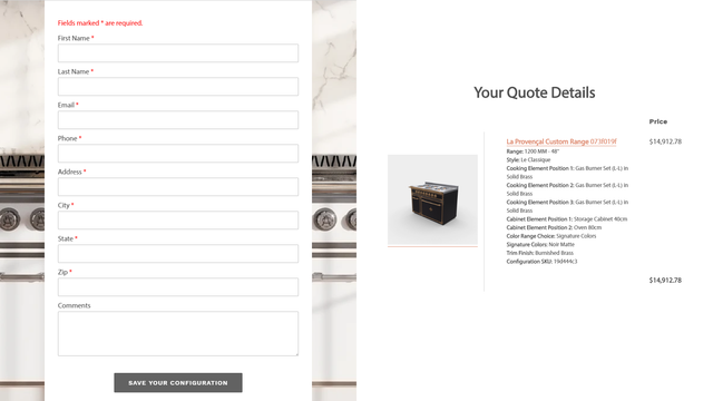Quote Page - Quick Quote | W3Trends