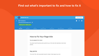 SEO verdict for Shopify with fix instructions