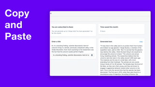 Easily copy and paste to product descriptions or blogs