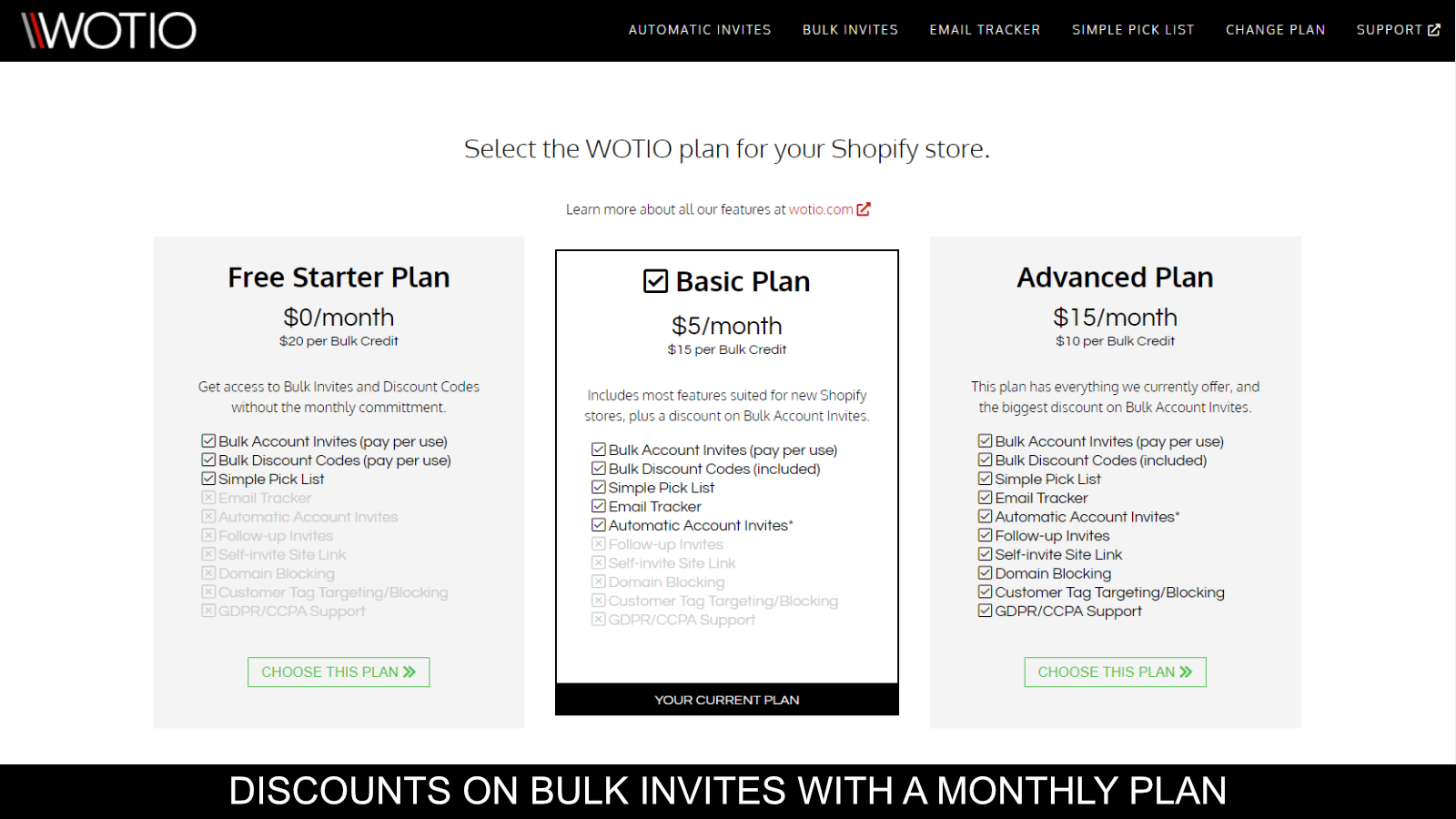 Save on Bulk Invites With Our Monthly Plans