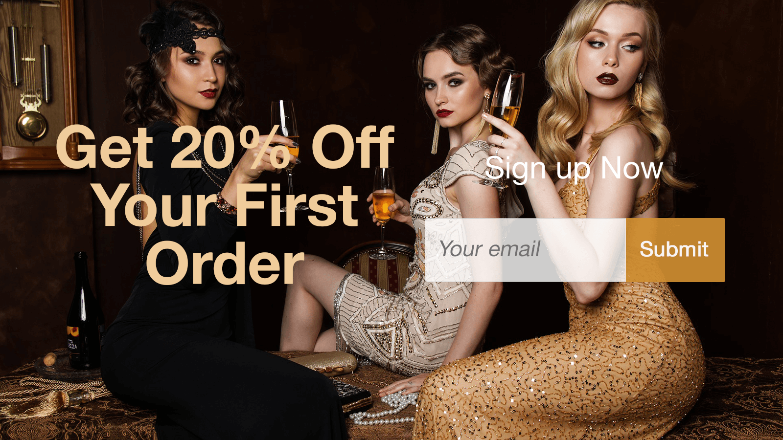 Increase Email Subscribers with our Coupon Pop up