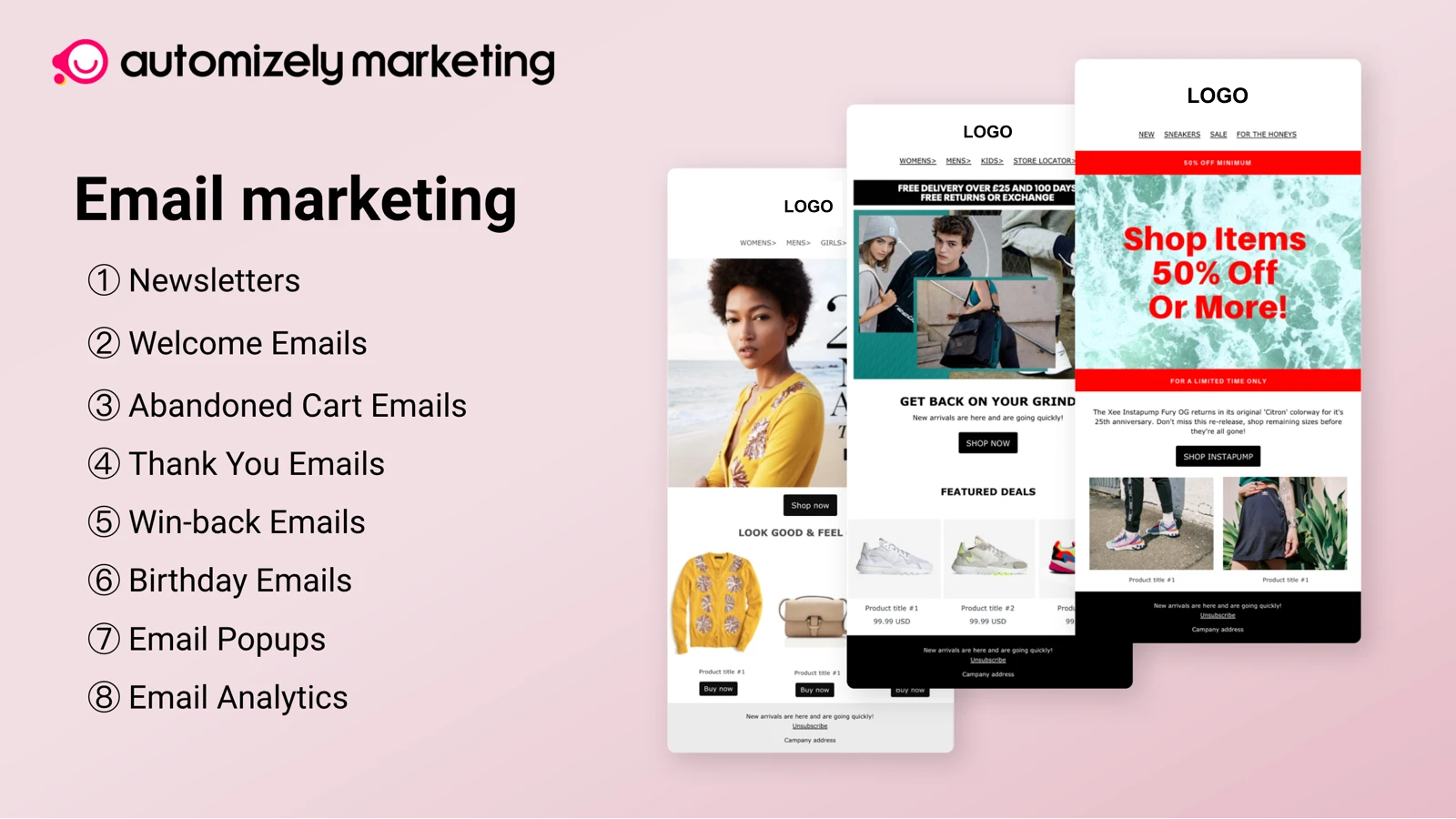 Email Marketing popup - Newsletters, Email popups