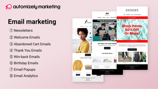 Email Marketing - Newsletters, Email Automation.