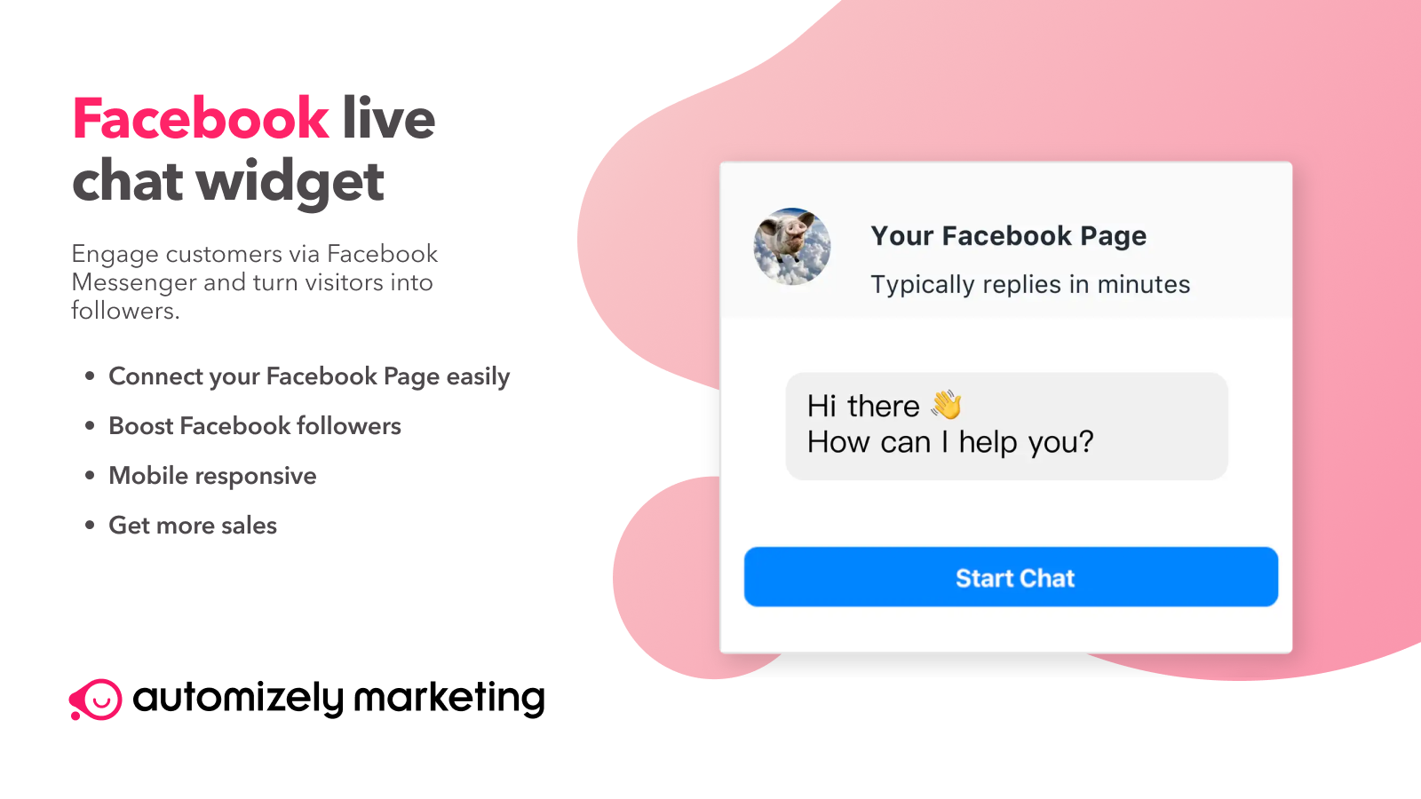 Facebook Live Chat popup, Timer, Inventory Countdown