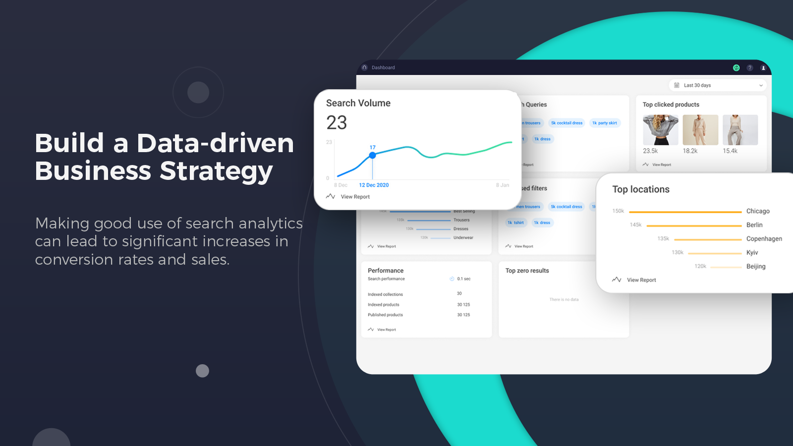 Advanced site search analytics to see what performs best