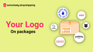 Brand logo on order packages