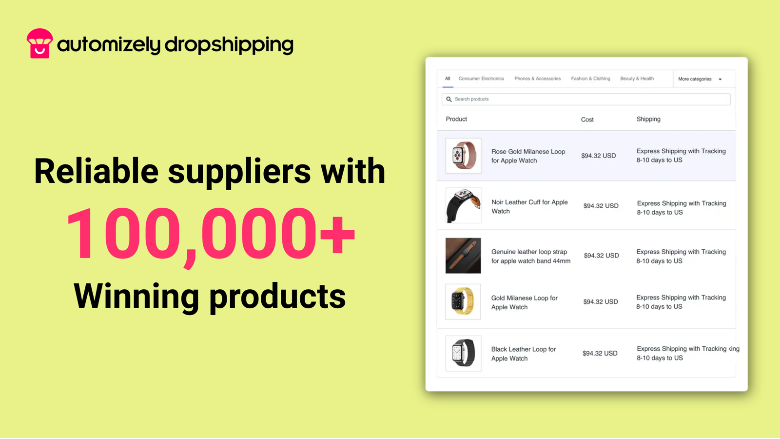 Best-quality products from verified suppliers