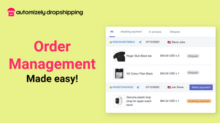 Dropshipping Order Management