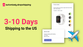 Trackable shipping to the US